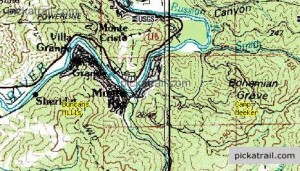 Bohemian grove et monte_rio_topo_map