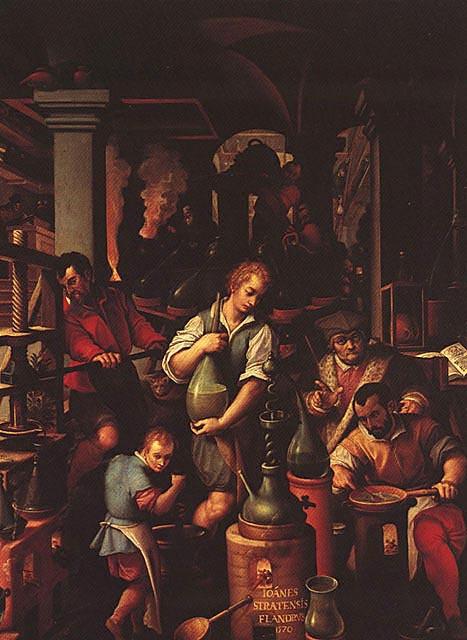 A-Il_laboratorio_dell'alchimista,_Giovanni_Stradano,_studiolo_di_Francesco_I