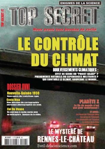 Top Secret - Le Contrôle du climat - N°7