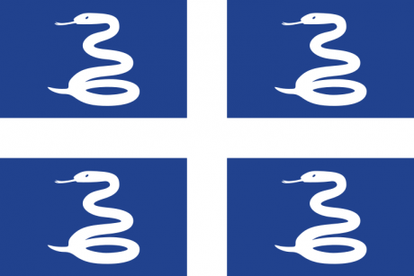 Flag of Martinique (unofficial)