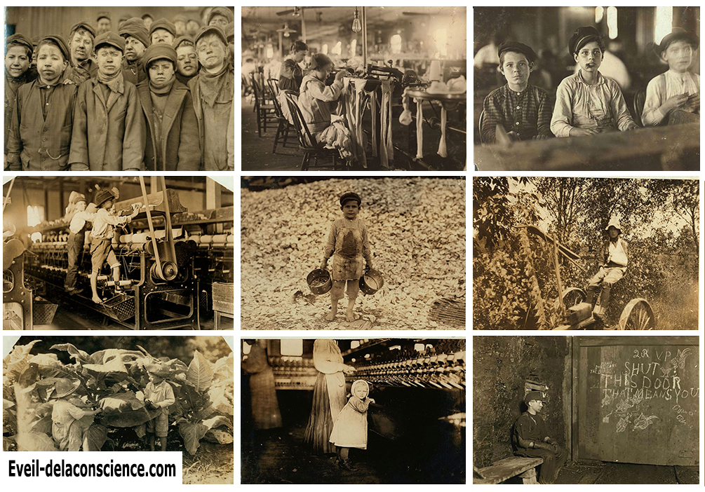 _20 photographies édifiantes sur les conditions de travail des enfants au début du XXe siècle